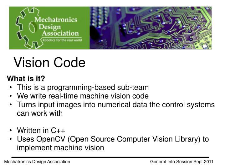 Vision Code