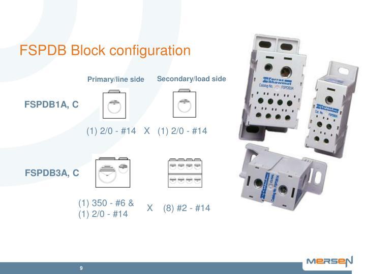 FSPDB Block configuration