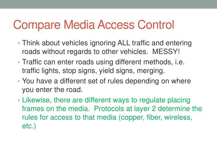 Compare Media Access Control