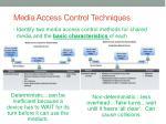 media access control techniques1