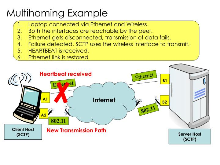 Multihoming Example