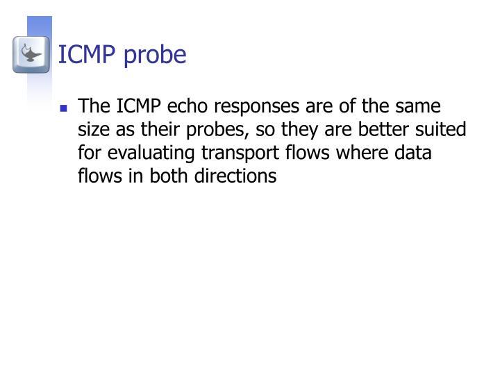 ICMP probe