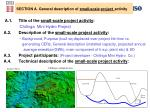 section a general description of small scale project activity