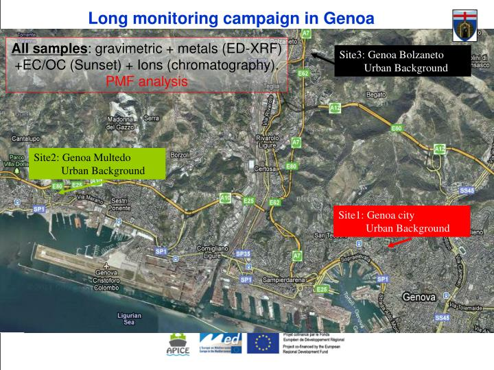 Long monitoring campaign in Genoa