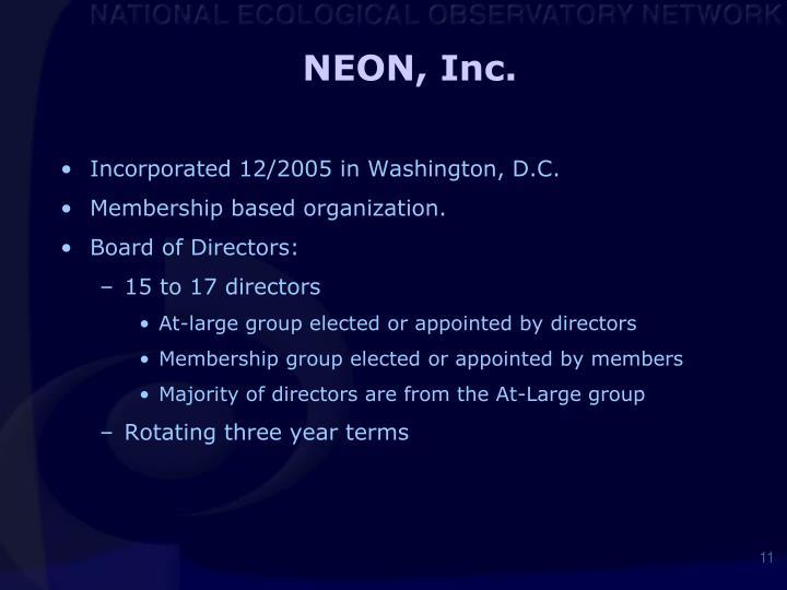 NEON, Inc.