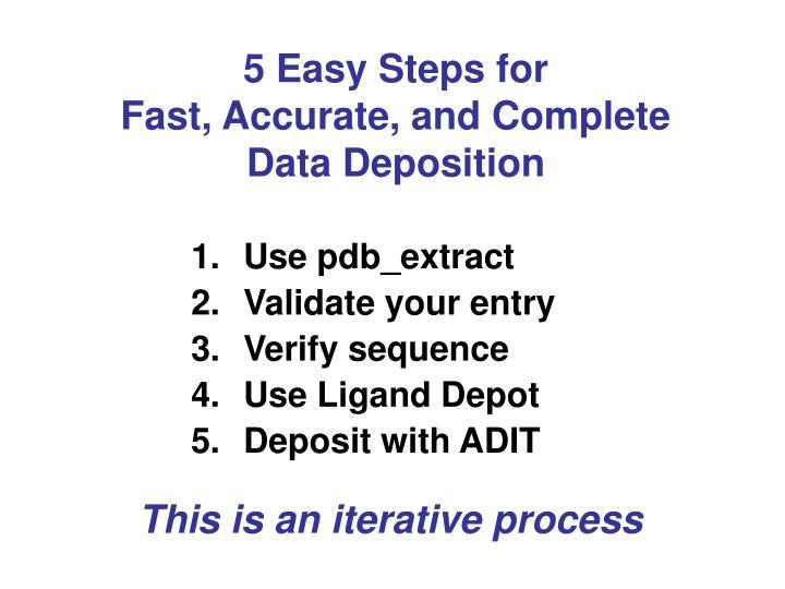 5 Easy Steps for