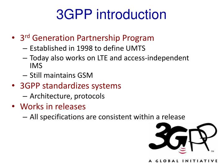 3GPP introduction