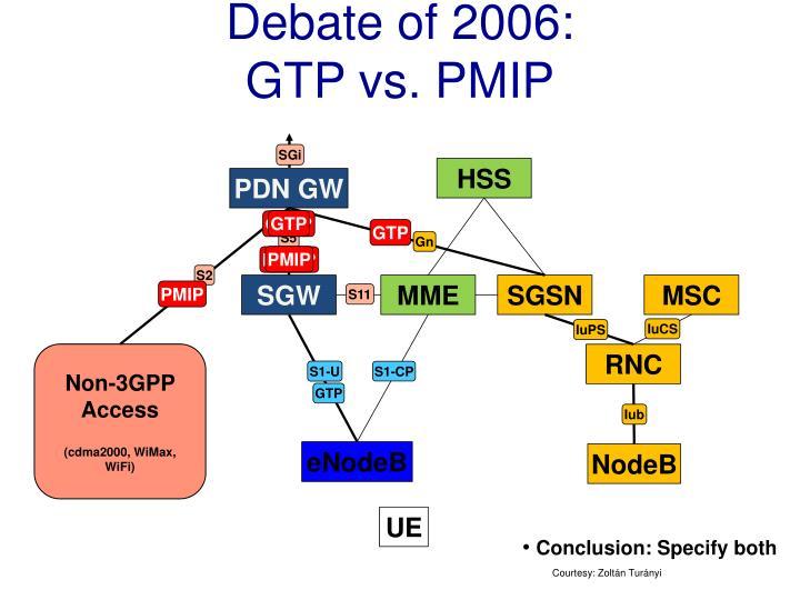 Debate of 2006: