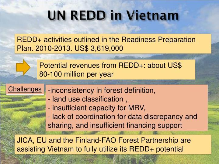 UN REDD in Vietnam