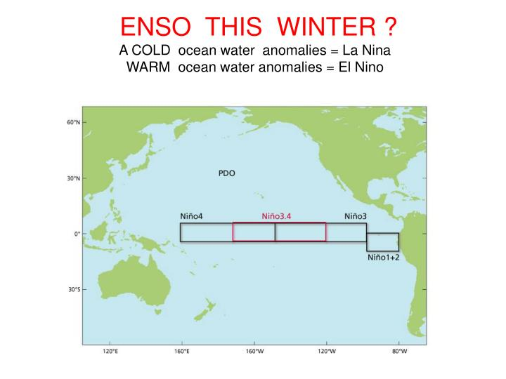 ENSO  THIS  WINTER ?