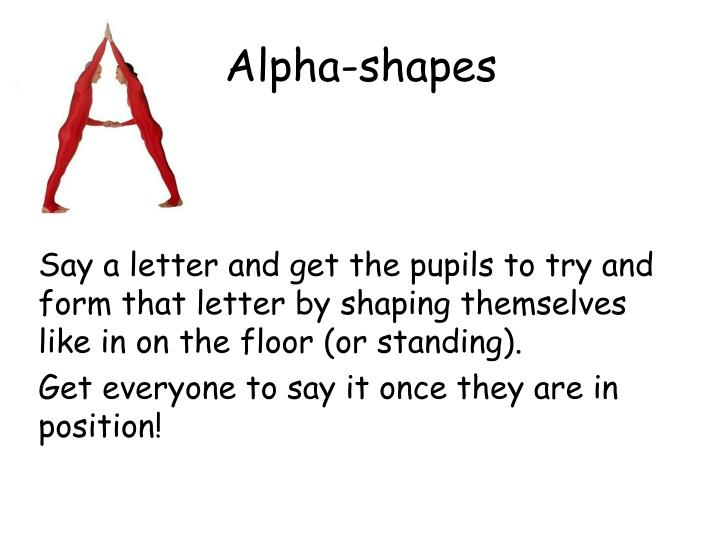 Alpha-shapes