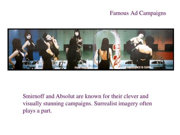 Famous Ad Campaigns