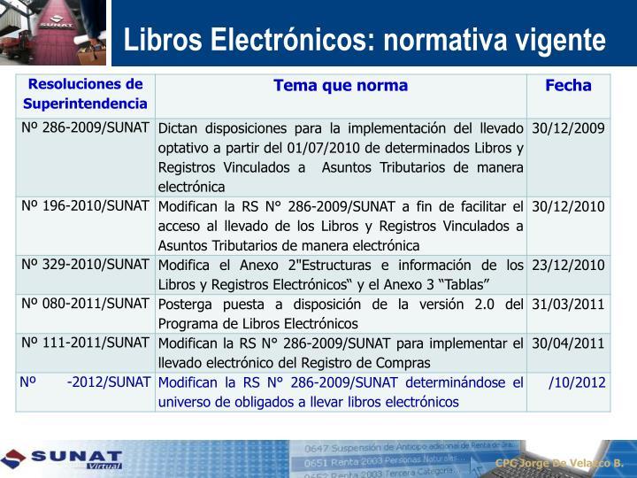 Libros Electrónicos: n