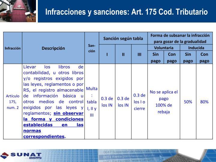 Infracciones