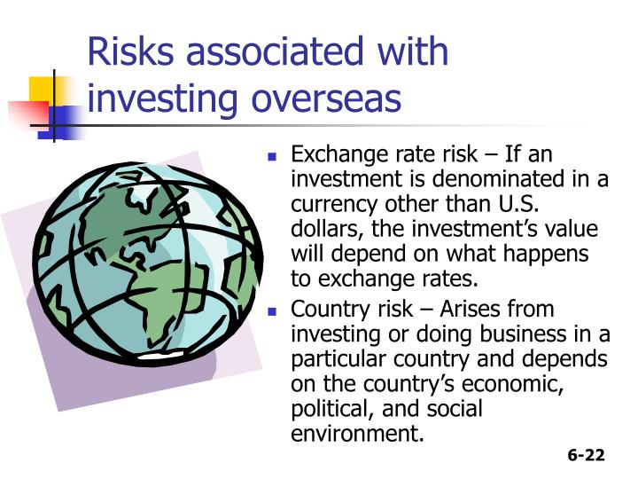Risks associated with investing overseas