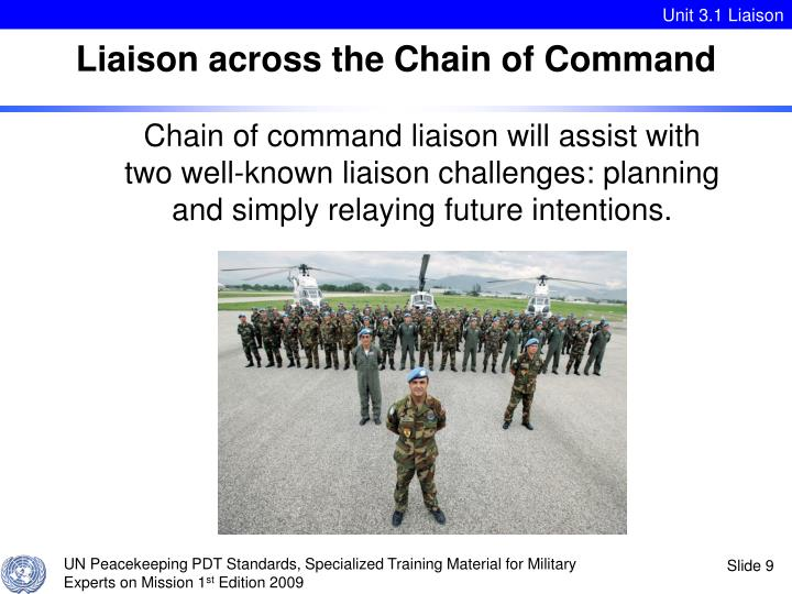 Liaison across the Chain of Command