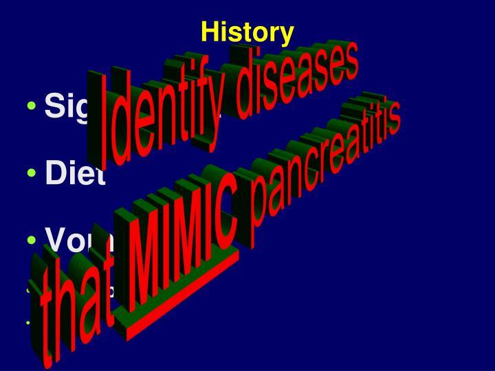 Identify diseases