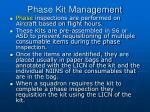 phase kit management3