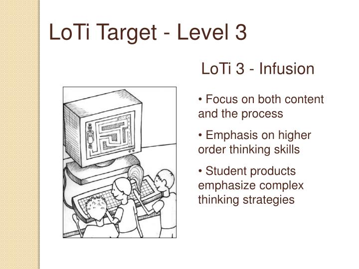 LoTi Target - Level 3