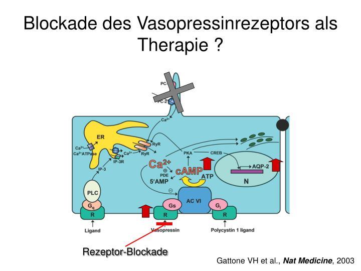 Blockade des Vasopressinrezeptors als Therapie ?