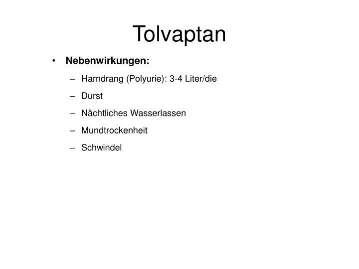 Tolvaptan