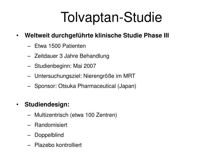 Tolvaptan-Studie