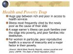 health and poverty trap1