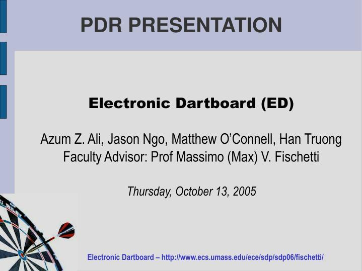 Electronic Dartboard (ED)