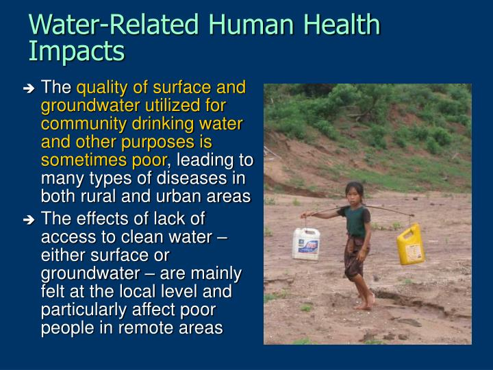 Water-Related Human Health Impacts