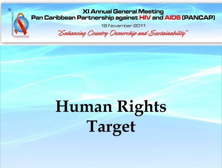 Human Rights Target