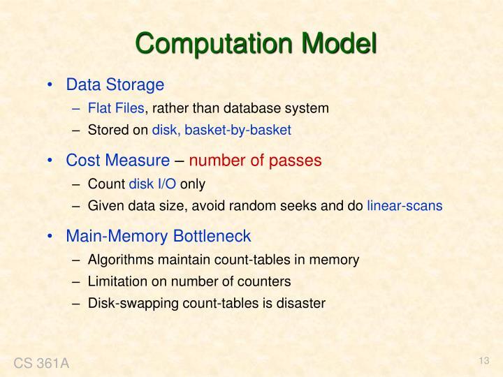 Computation Model