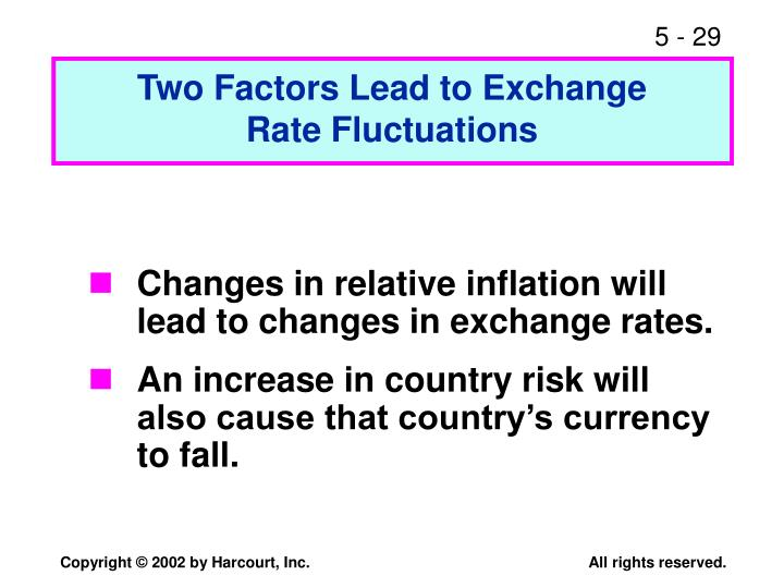 Two Factors Lead to Exchange