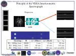 principle of the vega interferometric spectrograph
