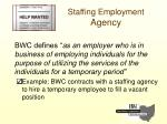 staffing employment agency