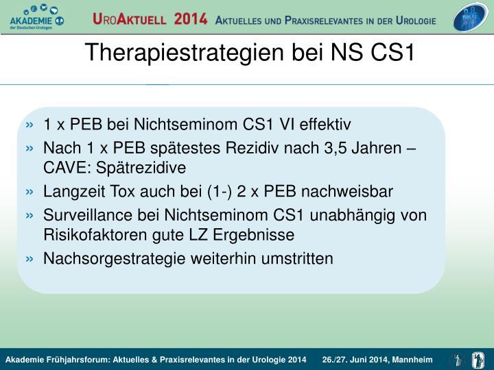 Therapiestrategien