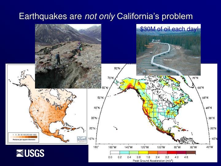 Earthquakes are
