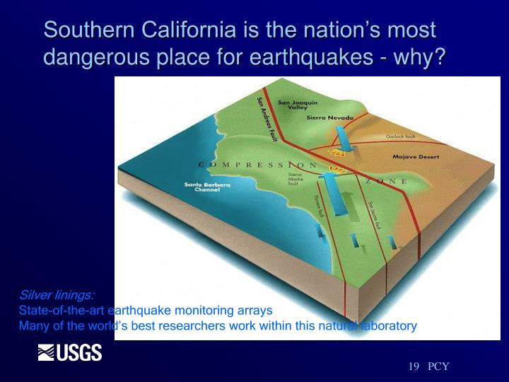 Southern California is the nation's most dangerous place for earthquakes - why?