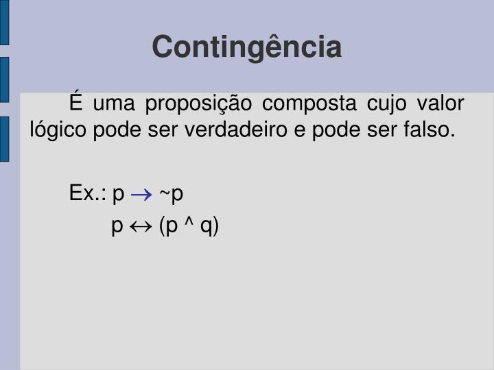 Contingência