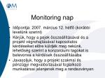 monitoring nap