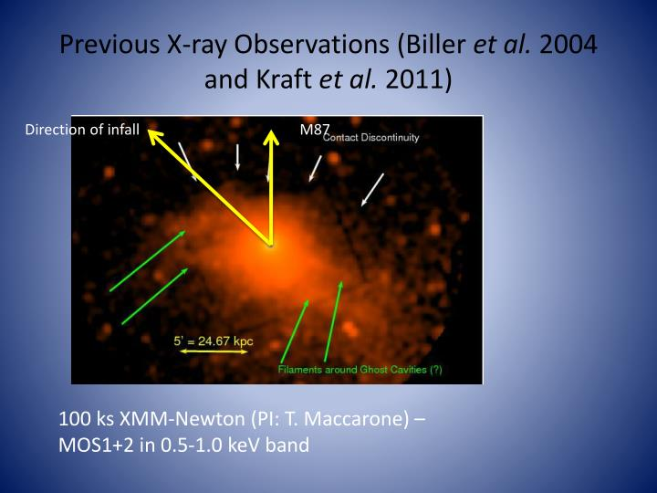 Previous X-ray Observations (Biller