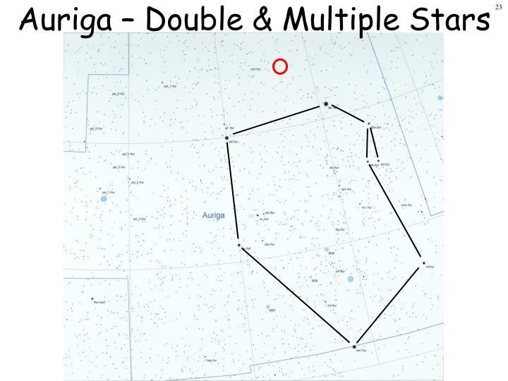 Auriga – Double & Multiple Stars