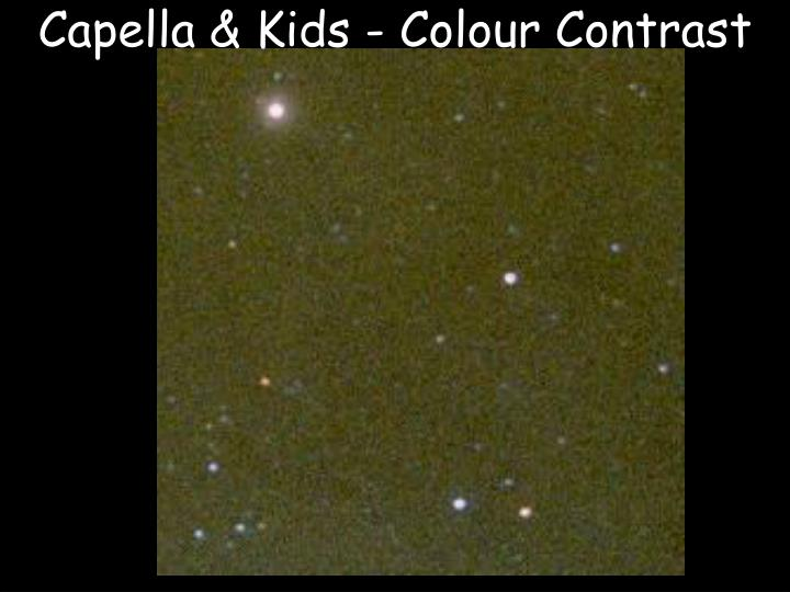 Capella & Kids - Colour Contrast