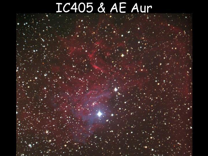 IC405 & AE Aur
