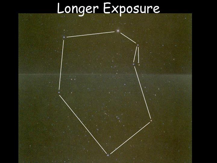 Longer Exposure