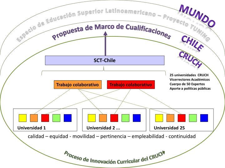 Espacio de Educación Superior Latinoamericano – Proyecto TUNING