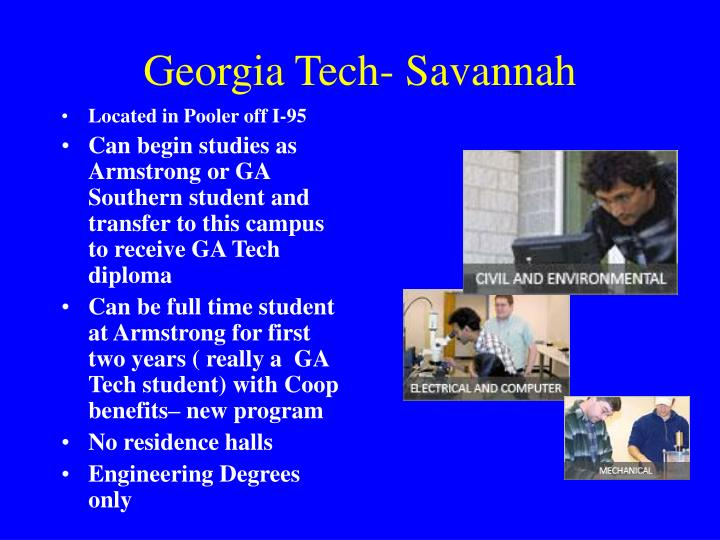 Georgia Tech- Savannah