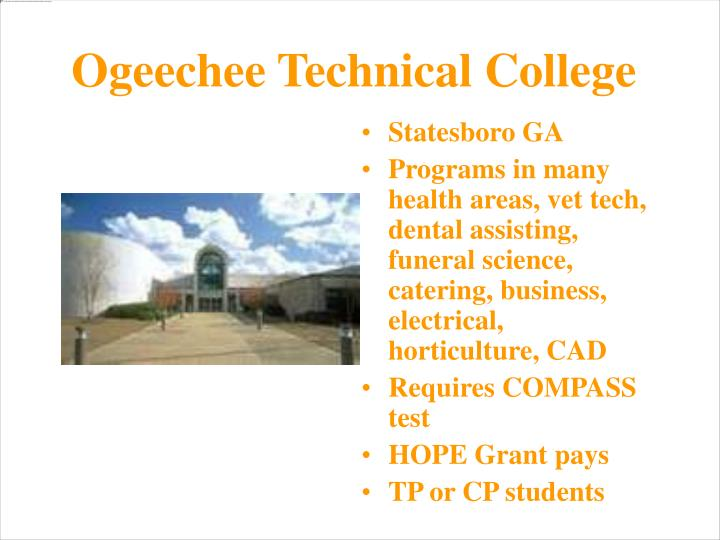 Ogeechee Technical College