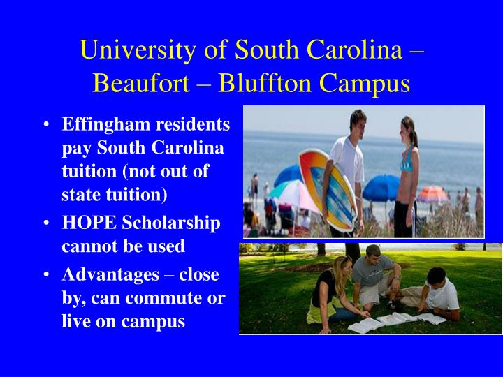 University of South Carolina – Beaufort – Bluffton Campus