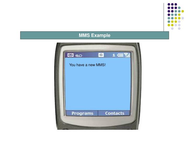 You have a new MMS!