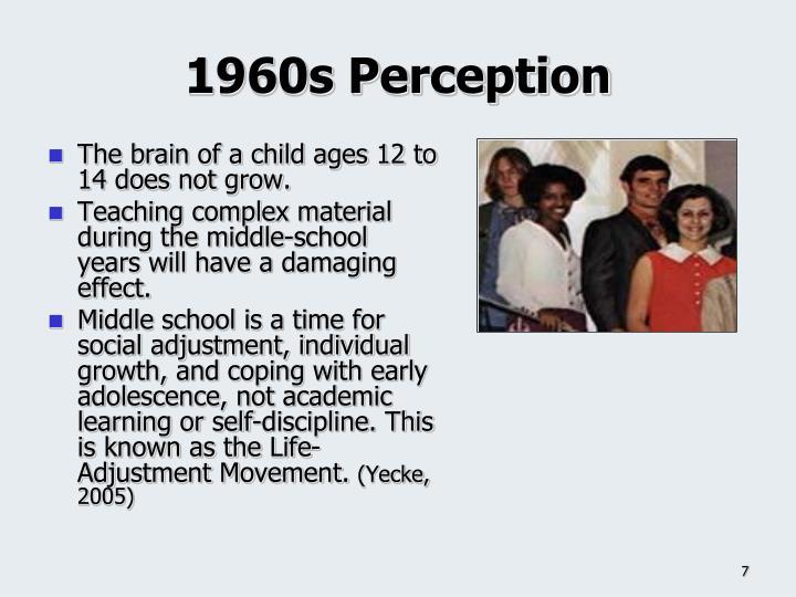 1960s Perception